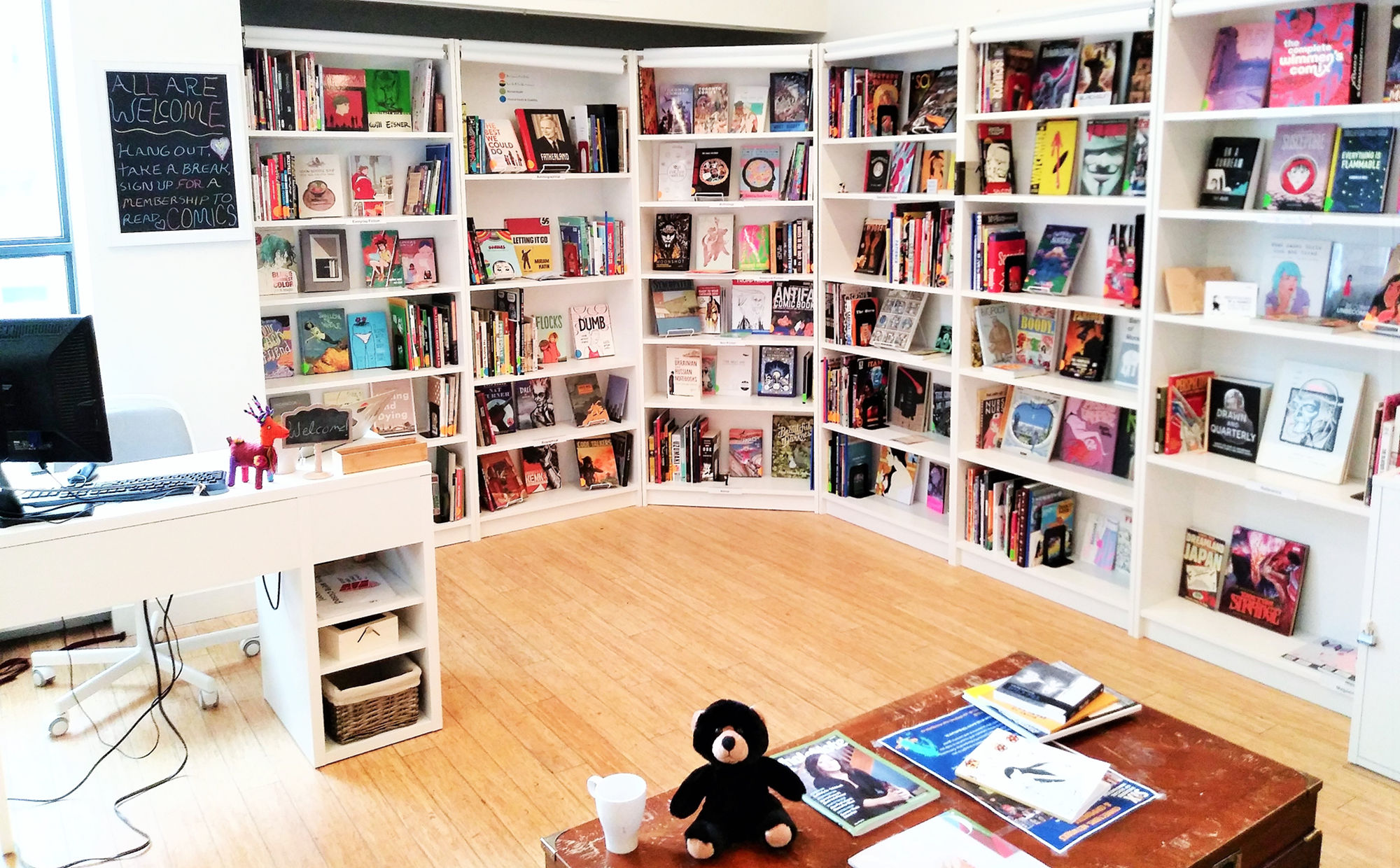 All are welcome at the Canada Comics Open Library Toronto Branch
