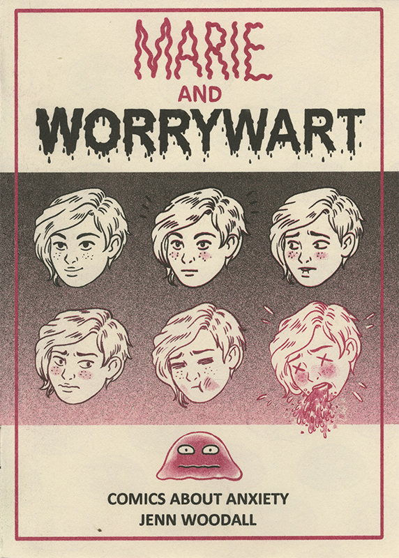 Marie and Worrywart Comics About Anxiety by Jenn Woodall