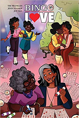 Bingo Love Volume 1 by Tee Franklin, Jenn St. Onge, and Joy San and Genevieve FT