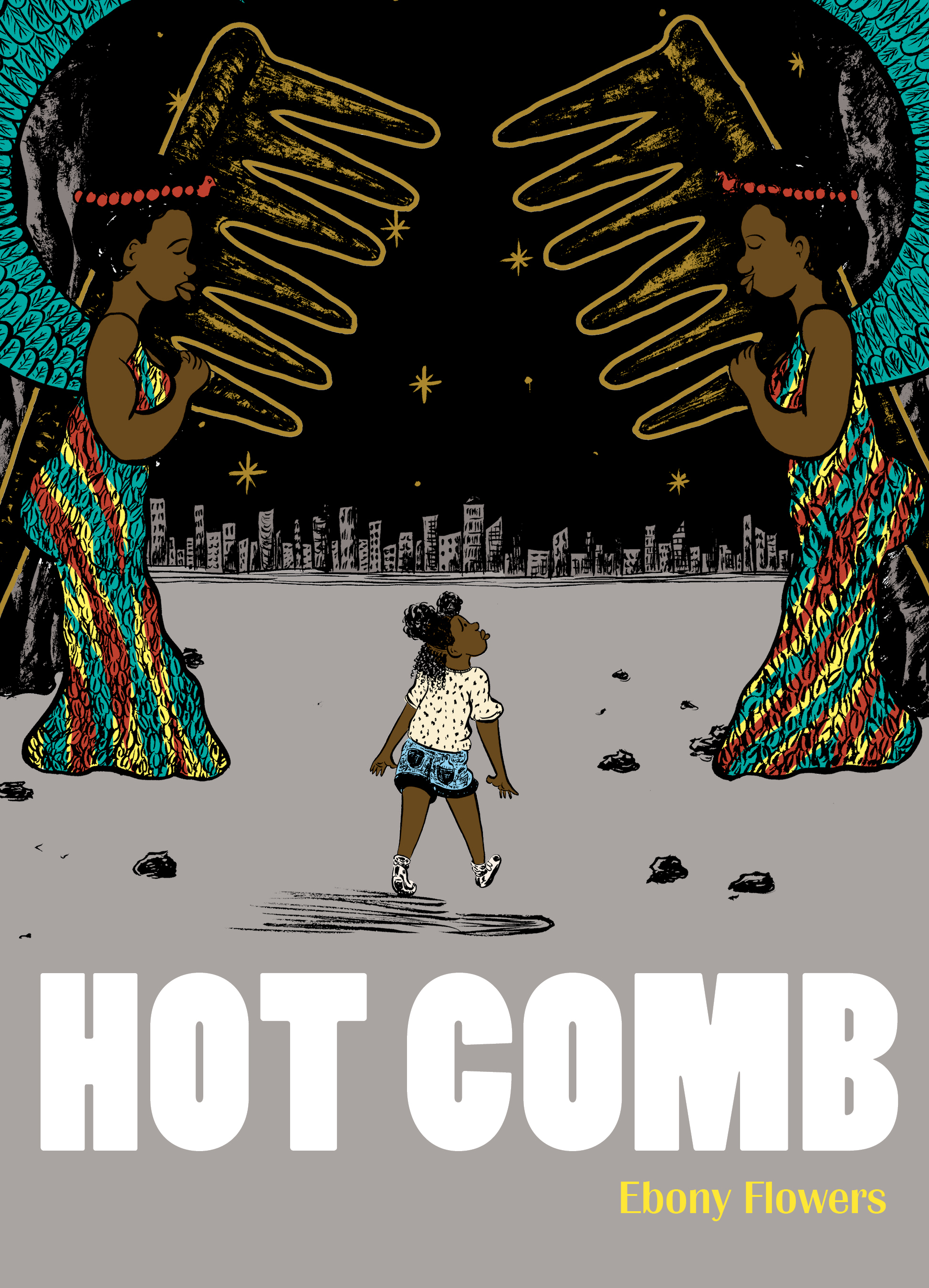 Hot Comb by Ebony Flowers cover