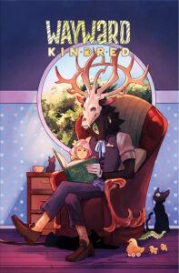 """Wayward Kindred Cover """"Uubato"""" story by Ardo Omer (2020)"""