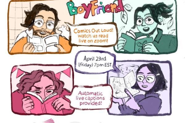 Hello Boyfriend Comics Out Loud #5 poster