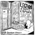 Legends Comics and Books